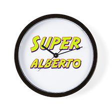 Super alberto Wall Clock
