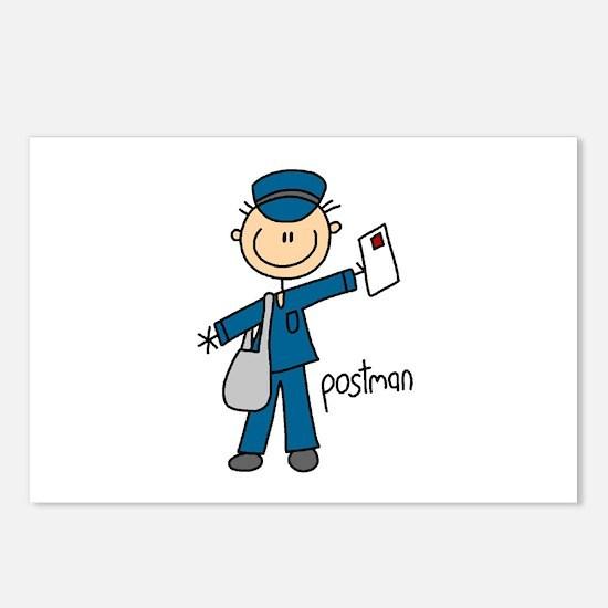 Postman Postcards (Package of 8)