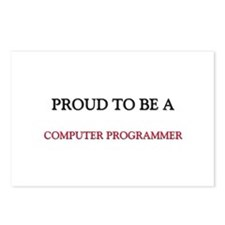 Proud to be a Computer Programmer Postcards (Packa