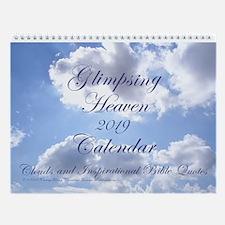 Glimpsing Heaven 2016 Bible Wall Calendar