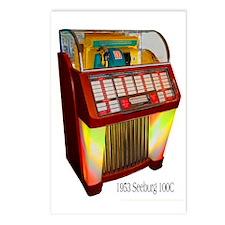 """1952 Seeburg """"C"""" Jukebox Postcards (Package of 8)"""