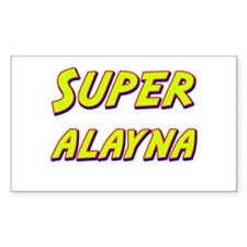 Super alayna Rectangle Decal