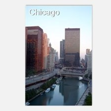 Chicago River: Postcards (Package of 8)