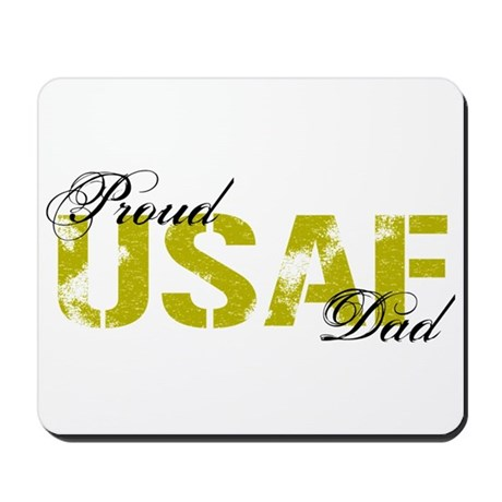 Proud Dad - USAF Mousepad