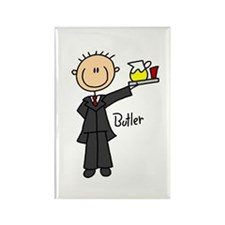Butler Rectangle Magnet (10 pack)
