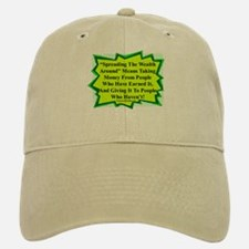 """Spread The Wealth"" Baseball Baseball Cap"