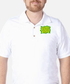 """Spread The Wealth"" Golf Shirt"