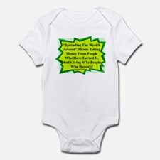 """Spread The Wealth"" Infant Bodysuit"