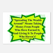"""Spread The Wealth"" Postcards (Package of 8)"