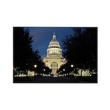 Austin Texas Capitol Rectangle Magnet