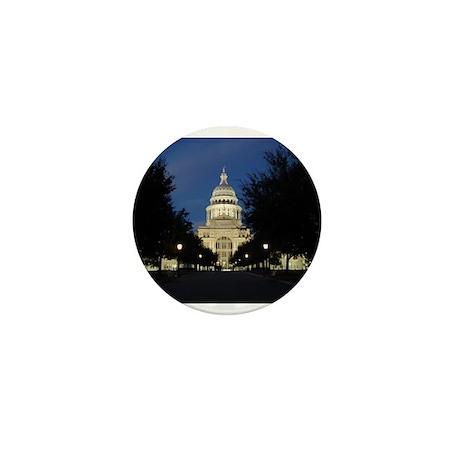 Austin Texas Capitol Mini Button (10 pack)