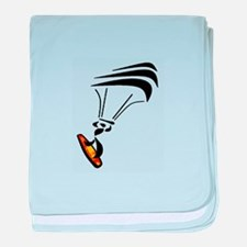KITEBOARDER baby blanket