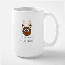 Vegan Holiday Large Mug