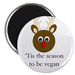 Vegan Holiday Magnet