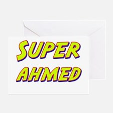 Super ahmed Greeting Card