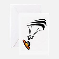 KITEBOARDER Greeting Cards