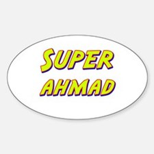 Super ahmad Oval Decal
