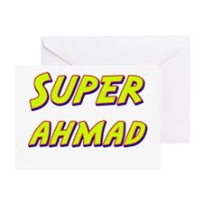 Super ahmad Greeting Card