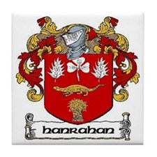 Hanrahan Coat of Arms Ceramic Tile