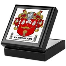 Hanrahan Coat of Arms Keepsake Box