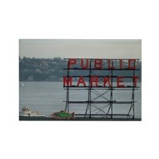 Seattle Rectangle Magnet