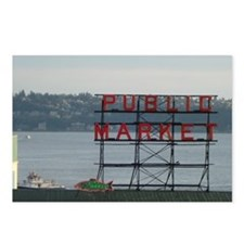 Seattle Postcards (Package of 8)