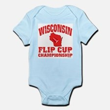Wisconsin Flip Cup Infant Creeper