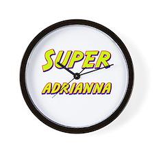 Super adrianna Wall Clock