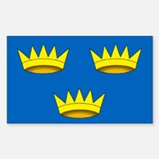 """Munster Provincial Flag"" Rectangle Decal"