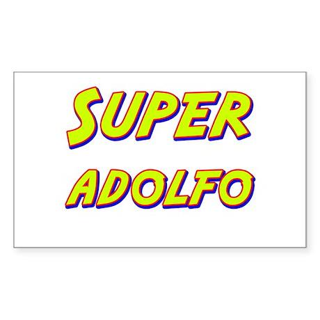 Super adolfo Rectangle Sticker