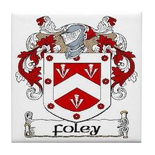 Foley Coat of Arms Ceramic Tile