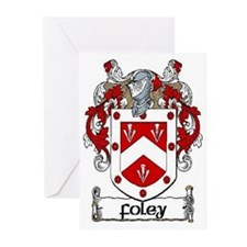 Foley Coat of Arms Note Cards (Pk of 10)