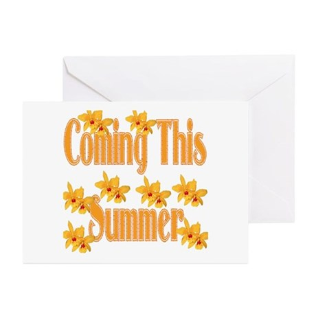 Coming This Summer Greeting Cards (Pk of 10)