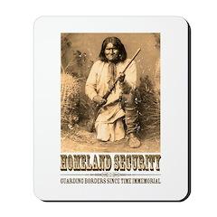 Homeland Security-Geronimo Mousepad