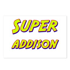Super addison Postcards (Package of 8)