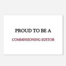 Proud to be a Commissioning Editor Postcards (Pack