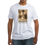 Homeland Security-Geronimo Fitted T-Shirt