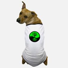 Think Green Yin Yang Dog T-Shirt