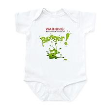 Warning: Booger! Infant Bodysuit