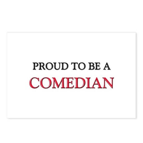 Proud to be a Comedian Postcards (Package of 8)