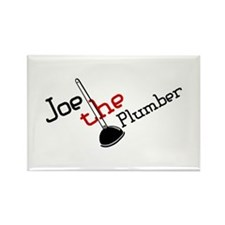 Joe the Plumber Rectangle Magnet