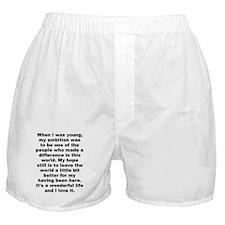 Unique Pastafarian freethinker anti religion Boxer Shorts