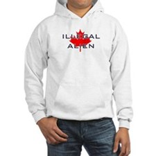 illegal alien from canada Hoodie