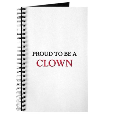 Proud to be a Clown Journal
