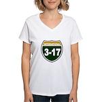 I-317 Women's V-Neck T-Shirt