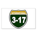 I-317 Rectangle Sticker 50 pk)