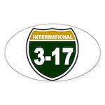 I-317 Oval Sticker