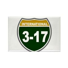 I-317 Rectangle Magnet (10 pack)