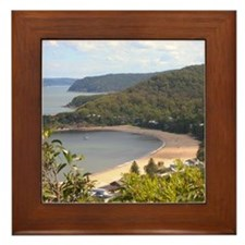 Pearl Beach, Central Coast Framed Tile