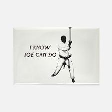 I Know Joe Can Do Rectangle Magnet